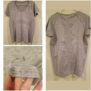 Lululemon dark gray top (12)